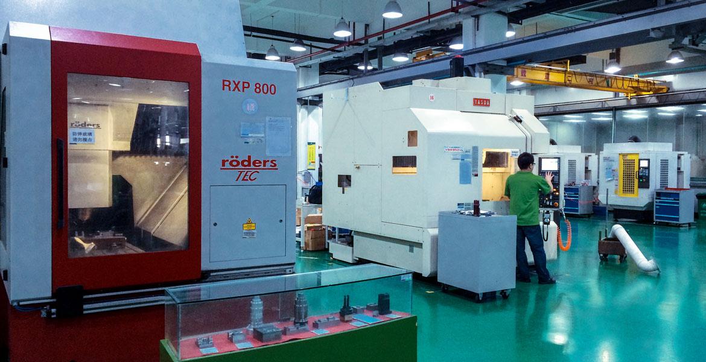 CNC Workfloor